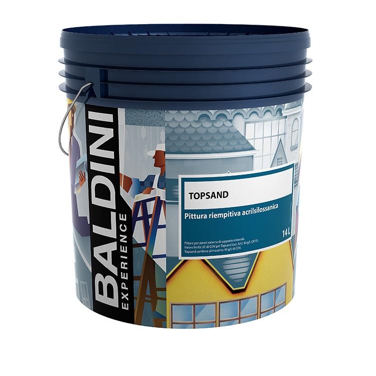 Topsand pittura riempitiva a formula acrilica